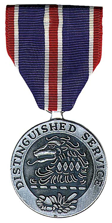 close up, high-resolution image of the NJ Distinguished Service Medal