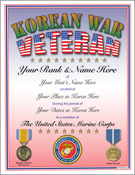 Korean War Veteran