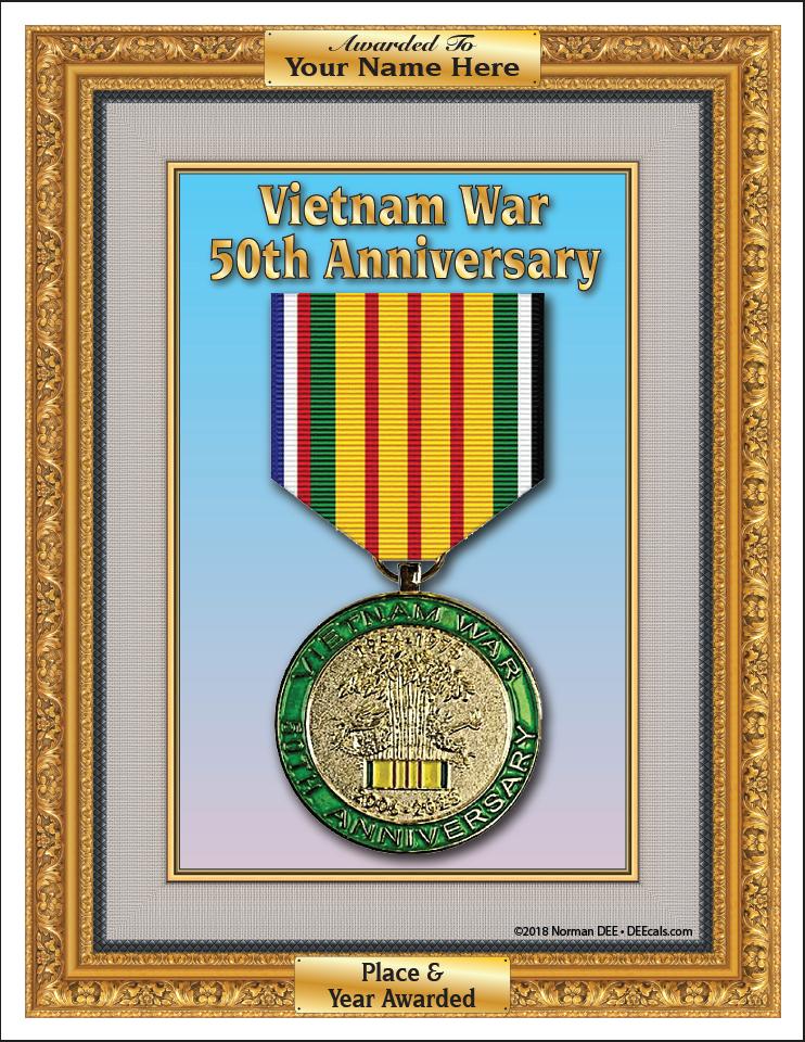 DEEcals | Vietnam War - 50th Anniversary