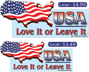 USA: Love It or Leave It USA Love It or Leave It, USA, Love It or Leave It, Love It, Leave It, Love, Leave, It
