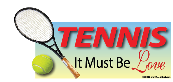 Tennis: It Must Be Love tennis, must, love, sports