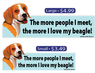 ... The More I Love My Beagle Beagle, Beagles, Love, My, Dog