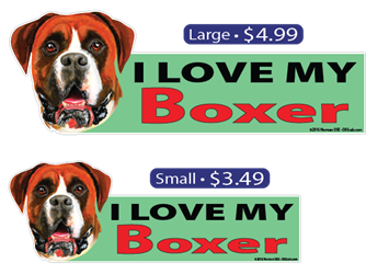 I Love My Boxer Boxer, Boxers, dog, dogs, pet, pets, love, loves, my