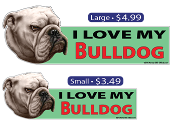 I Love My Bulldog Bulldog, bulldogs, bull, dog, dogs, love, my