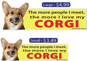 ... The More I Love My Corgi Corgi, Corgis, dog, dogs, love, my