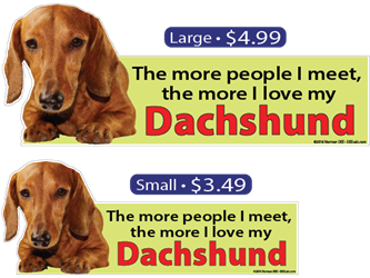 ... The More I Love My Dachshund dachshund, dachshunds, dog, dogs, love, my