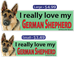 I Love My German Shepherd - DEEc-Pets-IL-Germ-La