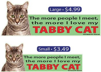 ... The More I Love My Gray Tabby Cat tabbycat, tabbycats, tabby, cat, cats, love, my