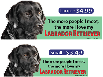 ... The More I Love My Labrador Retriever LabradorRetriever, LabradorRetrievers, Labrador, Retriever, Retrievers, dog, dogs, love, my
