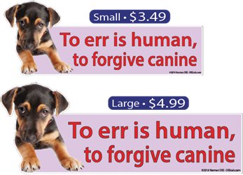 """To Forgive Canine"" forgive, canine, dog"