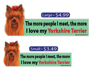 ... The More I Love My Yorkshire Terrier YorkshireTerrier, YorkshireTerriers, Yorkshire Terrier, Yorkshire, Terrier, Terriers, dog, dogs, love, my