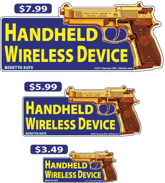 DEEcals | Handheld Wireless Device - Beretta