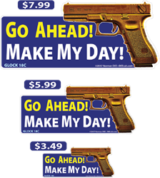Make My Day deecal, deecals, go, ahead, go ahead, make, my, day, make my day, do it, do, it, warning, shot, shots, warning shots, Glock18C, Glock, 18C, 18, C