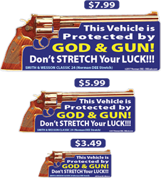 Dont Stretch Your Luck! deecal, deecals, protect, protected, god, gun, lord, father, stretch, luck, fortune, chance, bet, gamble, warning, shot, shots, warning shots, SmithAndWessonClassic24, SmithAndWesson Classic24, SmithAndWesson Classic 24, SmithAndWesson, Smith And Wesson, Smith, Wesson, Classic 24, Classic24, Classic, 24