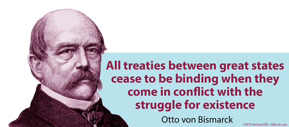 Treaties Cease Treaties, between, great, states, cease, binding, conflict, struggle, existence